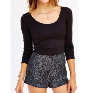 PINS AND NEEDLES High Waisted Shorts